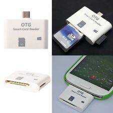 Card Reader OTG HOST Micro SD USB Adattatore per Cellulari Samsung e Tablet