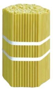 500 St. Kerzen für Kirche, 27 cm, Paraffin / Свечи парафиновые, 500 шт.