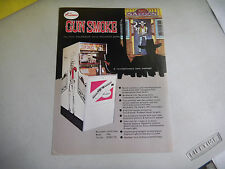 GUN SMOKE  kasco   ARCADE GAME  FLYER