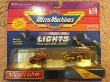 VINTAGE MICRO MACHINES GALOOB MICRO LIGHTS NEW IN PACK