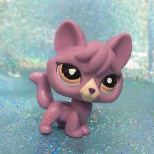 Littlest Pet Shop LPS Figure Toys #1536 Purple Fox Dog
