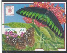 Butterflies Ni-Vanuatu Stamps 1980-Now