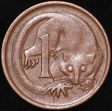 More details for 1966 | australia elizabeth ii 1 cent 'error strike' | bronze | coins | km coins