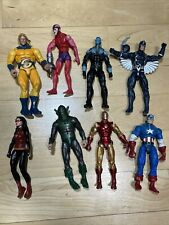 Marvel Legends Action Figure Lot Avengers Iron Man Fodder Captain America