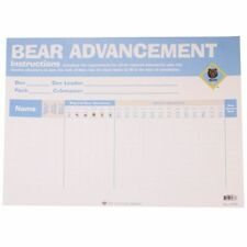 """Boy Scout Bear Cub Advancement Chart 23"""" x 17"""" Made in USA Official Licensed BSA"""