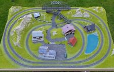 More details for complete spur z scale two track layout. add controllers & trains. *reduced*