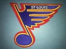 Rare Brett Hull Era St. Louis Blues Hockey Jersey Front Hipster Jacket Patch A