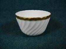 Minton Gold Rose Pattern H4680 Small Round Open Sugar Bowl