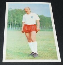 GERD DÖRFEL HAMBURG HSV FUSSBALL 1966 1967 FOOTBALL CARD BUNDESLIGA PANINI