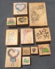 Rubber Stamps Lot!! Vintage!!