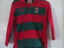 Gales Rugby Unión Clásico Camiseta Talla 11-12 años/41451