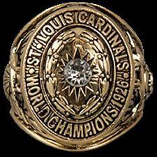 St. Louis Cardinals SGA 7/1 Replica 1926 World Series Championship Ring