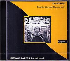 Jean-Francois DANDRIEU Harpsichord Book 1 IAKOVOS PAPPAS CD Neu Cembalo Clavecin