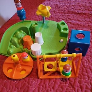 Vintage 1986 FISHER-PRICE LITTLE PEOPLE PLAYGROUND #2525 COMPLETE No Box