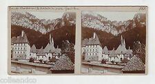 █ Vue Stéréoscopique / Stéréo : 38 GRANDE CHARTREUSE chapelle Grand Som Cloître
