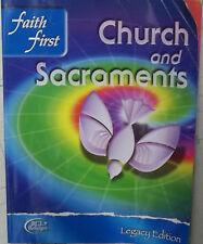 >>BRAND NEW<< FAITH FIRST CHURCH & SACRAMENTS CATHOLIC TEXTBOOK LEGACY EDITION
