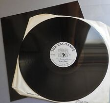 """The Railway Children - Music Stop 1990 The Exchange 12"""" 2/Sided Acetate"""