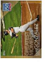 Luis Gonzalez 2019 Topps Update 150 Years of Professional Baseball 5x7 Gold #150
