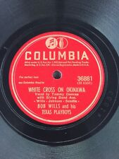 Bob Wills - White Cross On Okinawa / Empty Chair At The Christmas Table - 36881