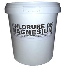 ★ 1KG | CHLORURE DE MAGNÉSIUM HEXAHYDRATÉ (47% MgCl2) | FLOCONS | 1000G
