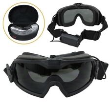 FMA Tactical Military Airsoft Anti-fog Dust Regulator Safety Goggles Glasses Fan