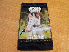 STAR WARS TCG A NEW HOPE SEALED PACK OF 5 CARDS