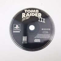 Tomb Raider III PS1 (Sony Playstation 1) Video Game DISC ONLY | Tested WORKS!