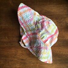 Gymboree 12-24 Months Sun Hat Bonnet With Chin Strap