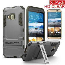 Armor Bumper High Impact Resistant [KickStand Case+Screen Guard] for HTC ONE M9