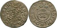 1/24 Taler 1614 Bistum Hildesheim Ferdinand von Bayern, 1612-1650 #ZK135