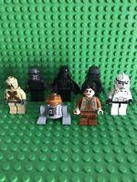 Lego Star Wars Minifigure Bundle Darth Vader Ezra Chopper Clone Shadow Tropper