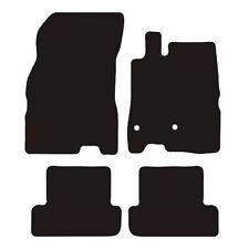 Renault Megane (2008 to 2017) Tailored Black 3mm Rubber Car Floor Mats Set of 4
