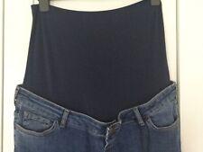 Blühende wunderbar unter Bump maternity jeans UK 16