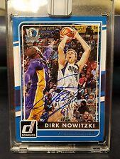 2015-16 Panini Replay Dirk Nowitzki Dallas Mavericks Signed AUTO 1/5