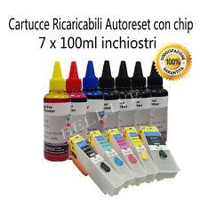 KIT 5 Cartucce Ricaricabili per Epson T26XL XP-510 XP-600 XP-520 XP-800 XP-610