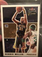 Reggie Miller 2003-04 Fleer Tradition Crystal 89/175 Indiana Pacers