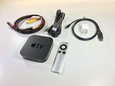 APPLE TV 2nd GEN A1378 CONVERTED 5-12V USB POWER INPUT WORKS ON CAR & HOME