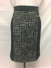 Liz Jordan. Size S. Black And White Skirt Excellent Condition. Beautiful Piece