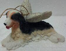 Ganz Guardian winged angel Dog hanging christmas ornament Cocker Spaniel #Ex4920