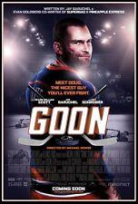 Goon movie poster - 11 x 17 inches - Seann William Scott, Ice Hockey