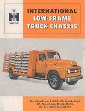 1955 International Low Frame Truck Chassis Brochure wx6449-FVK3CI