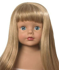 "Madame Alexander Doll WIG Strawberry Blonde Long Hair Fits 18"" American Girl"