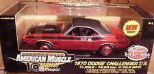1970 Dodge Challenger T/A Rally Red 1:18 Ertl American Muscle 33014