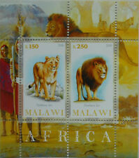** African Animals / Lion Malawi 2010 MNH  #D314
