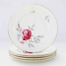 Vintage Royal Albert Charmaine Set 5 Tea Plates Bone China Floral