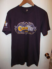 Zynga CastleVille Computer Video Online Social Game Fall 2011 Gamer T Shirt Lrg
