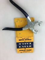 VINTAGE - EAGLE EYELET PLIERS - MADE IN JAPAN WITH PACKAGING