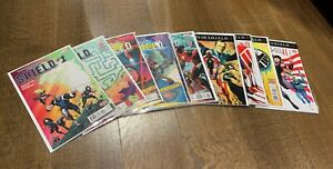AGENTS OF SHIELD #1-10 (complete run) NM