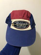 Vintage 90s Tommy Hilfiger Surfboards Multi Color 5 Panel Strapback Hat Cap S/M