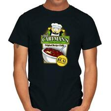 Chef Cartman Tenorman Chili South Park Horror Funny Cartoon Black T-shirt S-6Xl